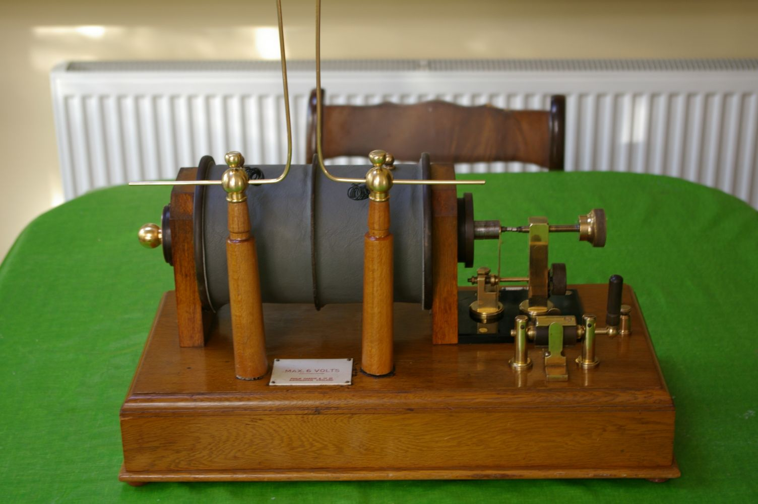 Ruhmkorff Induction coil restored