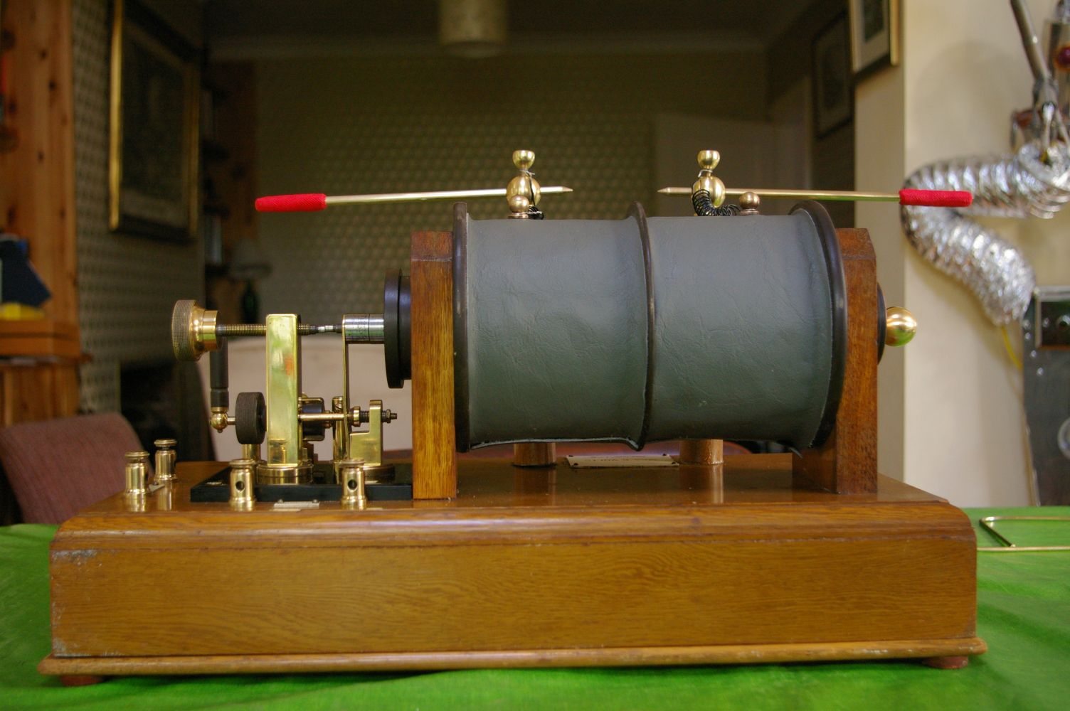 Ruhmkorff Induction coil reassembled