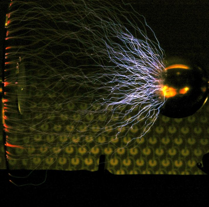 Ruhmkorff Induction coil sparks